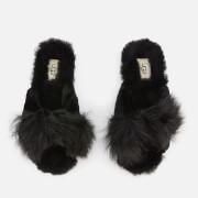 UGG Women's Mirabelle Sheepskin Slide Slippers - Black