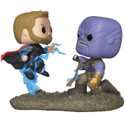 Marvel Thor contro Thanos Pop! Movie Moment
