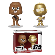 Chewbacca & C-3PO Vynl.