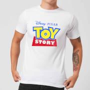 Toy Story Logo Men's T-Shirt - White