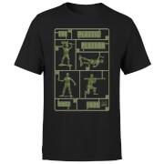 T-Shirt Homme Soldats en Plastique Toy Story - Noir
