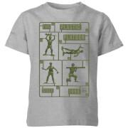 Toy Story Plastic Platoon Kids' T-Shirt - Grey