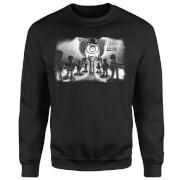 Toy Story Evil Dr Pork Chop Speech Sweatshirt - Black