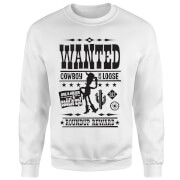 Toy Story Wanted Poster Sweatshirt - White