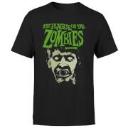 Hammer Horror Plague Of The Zombies Portrait Men's T-Shirt - Black