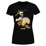 Hammer Horror Dracula Don't Dare See It Alone Women's T-Shirt - Black