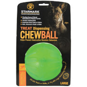 Starmark Treat Dispenser Chew Ball for Dogs - Large