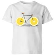 Citrus Lemon Kids' T-Shirt - White