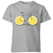 Citrus Lemon Kids' T-Shirt - Grey