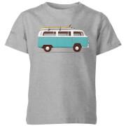 Blue Van Kids' T-Shirt - Grey
