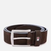 Tommy Hilfiger Men's Denton Nubuck Belt - Brown