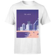 Tel Aviv Men's T-Shirt - White