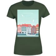 Copenhagen Women's T-Shirt - Forest Green