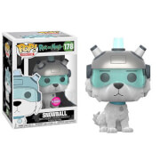 Rick and Morty Snowball Flocked EXC Pop! Vinyl Figure
