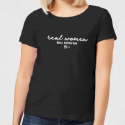 Real Women, Real Nutrition Women's T-Shirt - Black