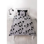 Mickey Mouse Sillhouette Duvet Set