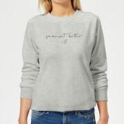 Peanut Butter <3 Women's Sweatshirt