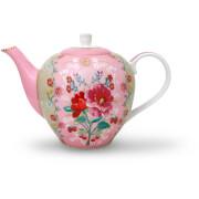 Pip Studio Rose Teapot - Pink