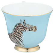 Yvonne Ellen Zebra Teacup - Blue