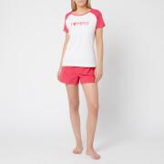 Tommy Hilfiger Women's Pyjama Valentine's Set - Pink