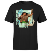 Moana Maui Men's T-Shirt - Black