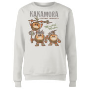 Moana Kakamora Mischief Maker Women's Sweatshirt - White
