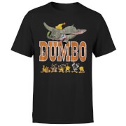 Camiseta Disney Dumbo The One The Only - Hombre - Negro