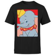 T-Shirt Homme Portrait Dumbo Disney - Noir