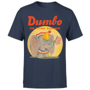 Camiseta Disney Dumbo Flying Elephant - Hombre - Azul marino