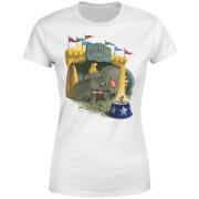 Dumbo Circus Damen T-Shirt - Weiß