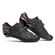 Sidi Shot Matt Road Shoes - Total Black