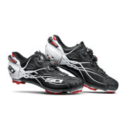 Sidi Tiger Carbon MTB Shoes - Matt Black/Gloss White