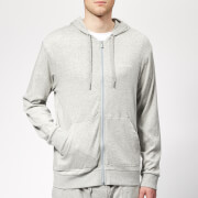 Calvin Klein Men's Full Zip Lounge Hoodie - Grey Heather