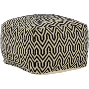 Premier Housewares Bosie Arrow Pouffe - Cotton Cover