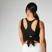 MP Tie-Up Vest - Black