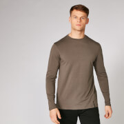 MP Luxe Classic Long Sleeve Crew - Driftwood