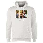 Friends Cast Shot Hoodie - White