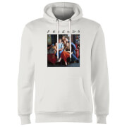 Friends Classic Character Hoodie - White