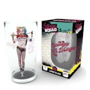 DC Comics Suicide Squad Harley Quinn Large Glass