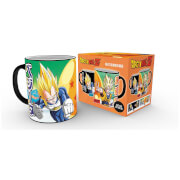 Dragon Ball Z Saiyans Heat Change Mug