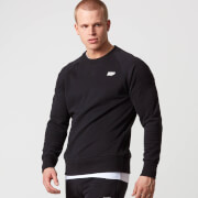 Myprotein Classic Crew Neck Sweatshirt - Black