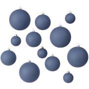 Broste Copenhagen Ammos Christmas Baubles - Orion Blue