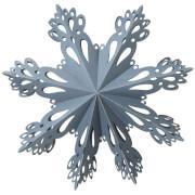 Broste Copenhagen Paper Snowflake Decoration - Large - Orion Blue