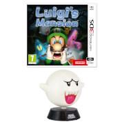 Luigi's Mansion (Nintendo 3DS) + Boo Lamp