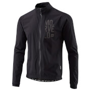 Morvelo Stealth Hydrologic Road Rain Jacket - Black