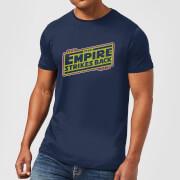 Star Wars Empire Strikes Back Logo Men's T-Shirt - Navy