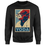 Star Wars Yoda Poster Sweatshirt - Black