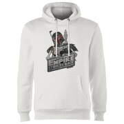 Star Wars Boba Fett Skeleton Hoodie - White