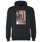 Star Wars Classic Comic Book Cover Hoodie - Black