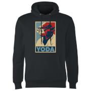 Star Wars Yoda Poster Hoodie - Black